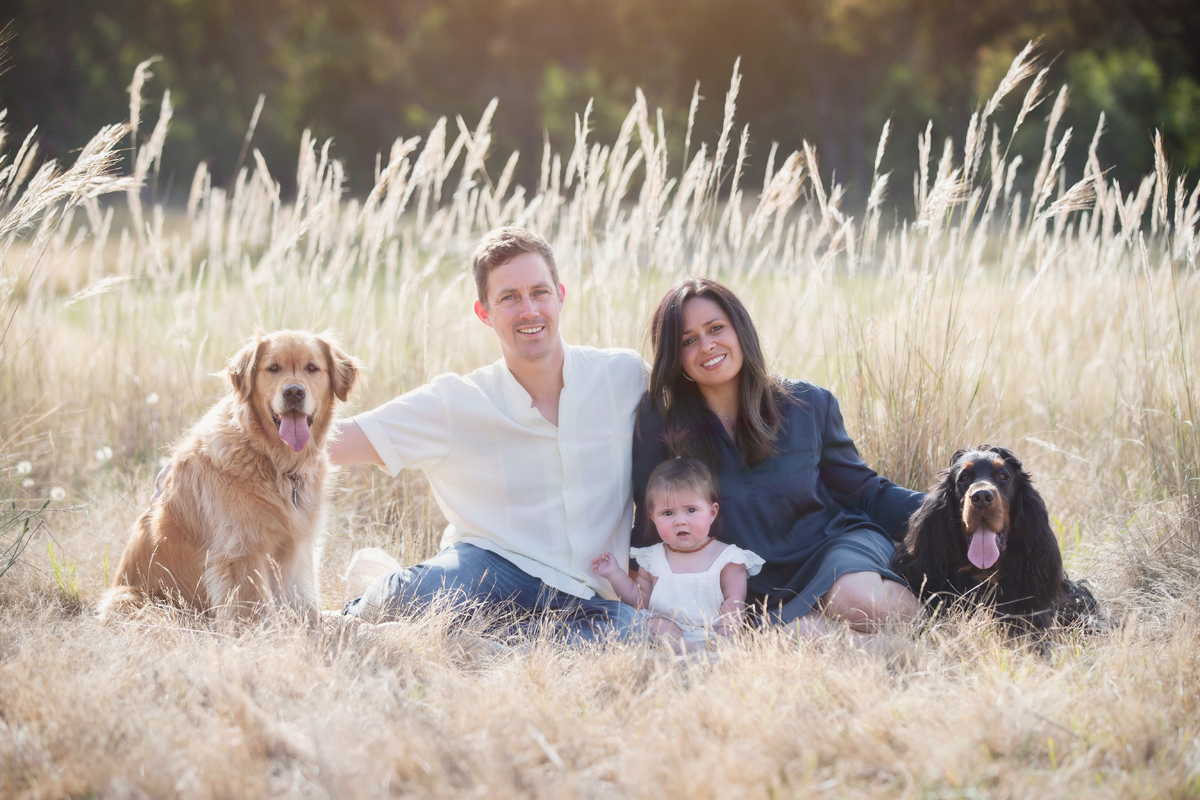 family photography including children and dogs