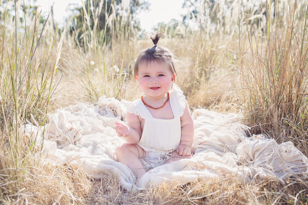 Outdoor baby photography in the eastern suburbs