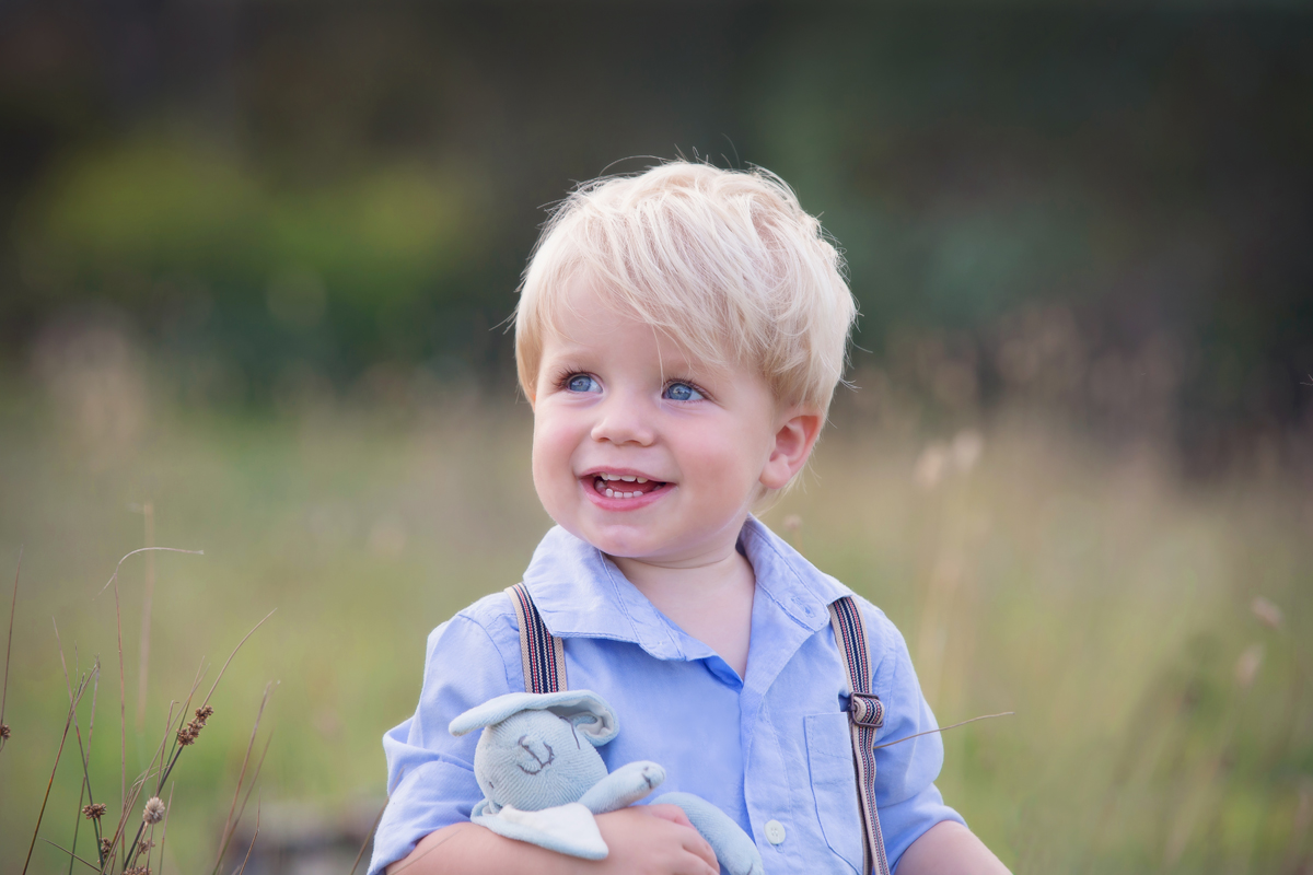 Children's photography little boy portrait