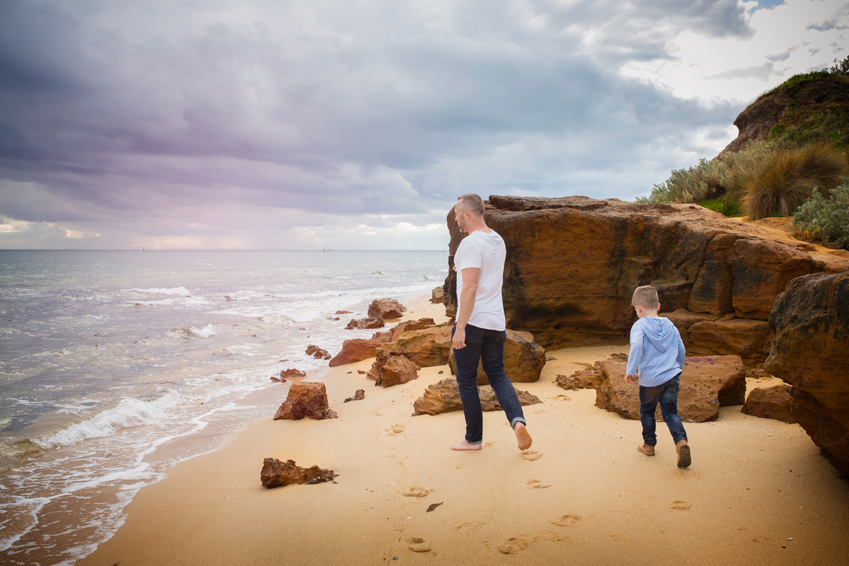 father and son family photography sessions